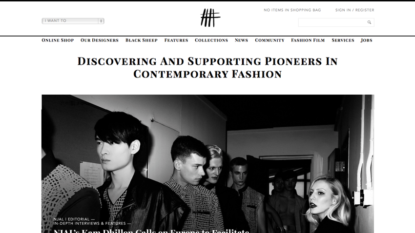 NOT JUST A LABEL showcases HANDS OF OIZO - Discovering the Pioneers of Contemporary Fashion